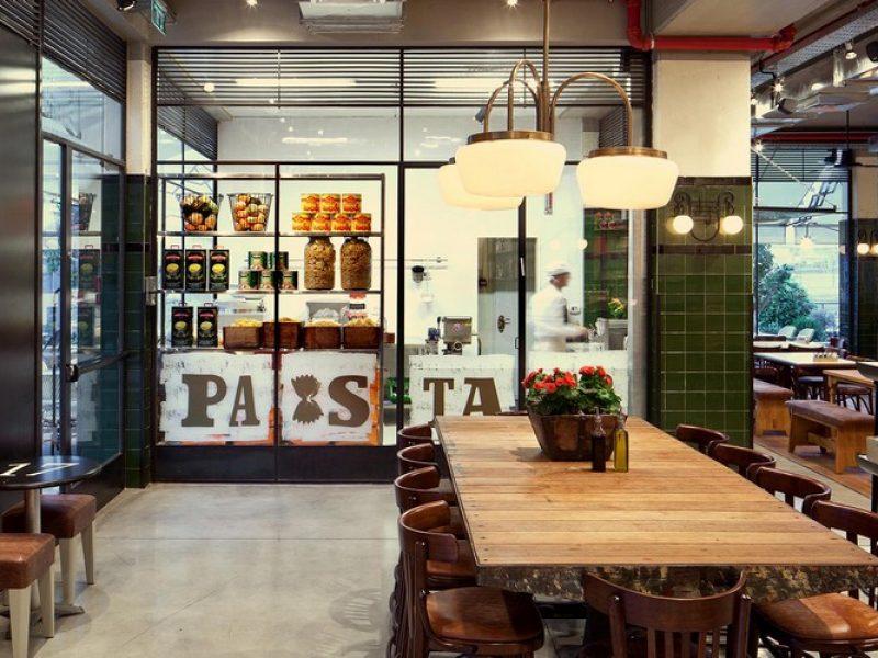 דרורן חברת פרקטים בבניה במסעדת גמובה