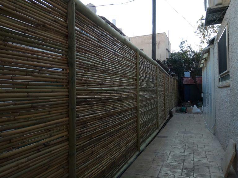 גדר עץ בין שכנים-דרורן (3)
